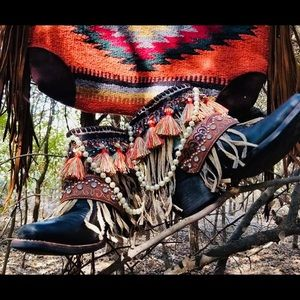 Upcycled Western boots